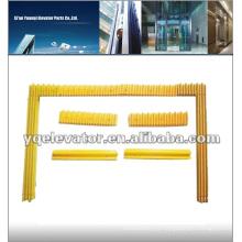 Escaleras mecánicas amarillas, escaleras mecánicas amarillas, escaleras mecánicas