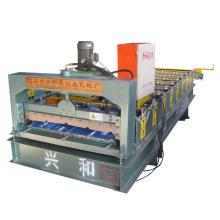 Máquina de fabricação de telhas de aço de baixa qualidade de parede de telhado