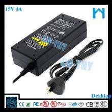 Le plus cher pour l'imprimante USB universelle 15v 4a adaptateur secteur