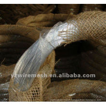 12 gauge electro galvanized steel wire manufacture