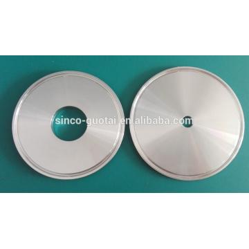 Triclamp Endkappe mit Kreisausschnitt aus der Mitte