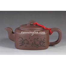 Fang Yuan Square Yixing pot