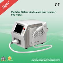 Máquina portable del reoal del pelo del laser del diodo 808nm con la barra de Alemania