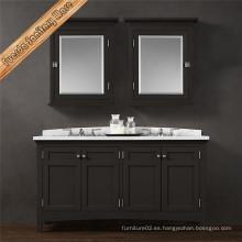60 '' El estilo europeo modificado para requisitos particulares Vanity libre del cuarto de baño