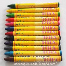 12color Nontoxic Factory Wax Crayons
