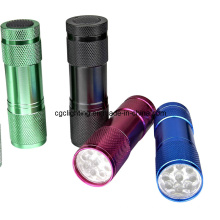 Aluminum Dry Battery LED Torch