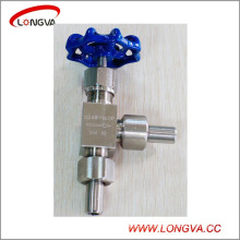 Sanitary Stainless Steel Forged High Pressure Needle Valve