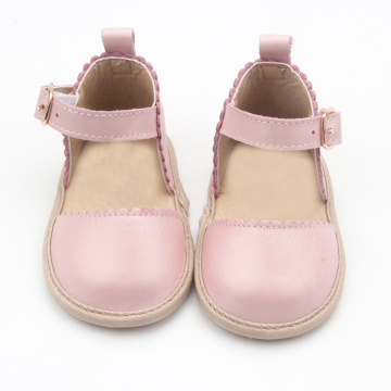 Zapatos al por mayor de Pink Girls Dress Shoes Sandals