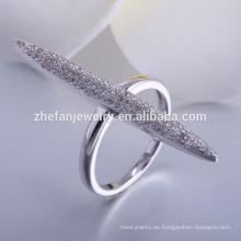 Venta caliente italiano 925 anillos de plata esterlina