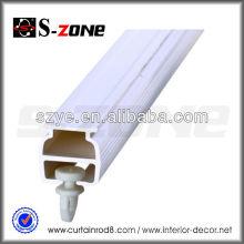 SC06 Trace de rideau d'hôpital durable en plastique mince en PVC