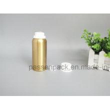 Garrafa de Alumínio de Ouro com Capa Branco Proof Tamper (PPC-AEOB-020)
