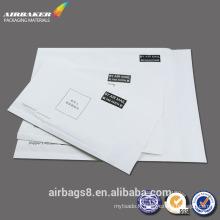 Logo d'enveloppe bulle blanc bon marché fabricants Bubble enveloppe imprimée postale sacs en papier