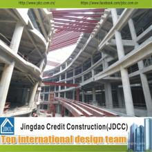 Supermercado de estructura de acero prefabricado de la mejor calidad