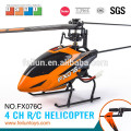 2. 4 G 4CH flybarless hélicoptère rc modèle rc hobby pour certificat CE/ROHS/FCC/ASTM vente