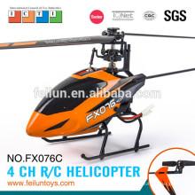 2.4G 4CH flybarless rc helicóptero modelo rc de la manía para el certificado de CE/ROHS/FCC/ASTM venta