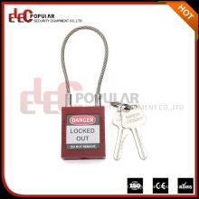 Elecpopular Online Verkauf 40Mm Professional ISO OEM Sicherheit Kabelschloss