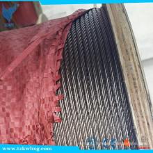201 Câblage en zinc galvanisé 35 * 7