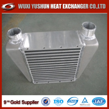 Customized Brazed Plate and Bar Side Mount Intercooler