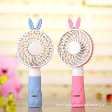 Portable Battery Operated USB Handheld Mini Rabbit Fan