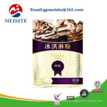 Sac à glace et emballage pour mélange de poudre de crème glacée