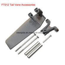 Kits d'accessoires de palette de queue de pièces de rechange de bateau de FT012 2.4G RC