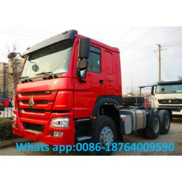 Caminhão do trator de 371hp Sinotruk Howo EuroII 6x4