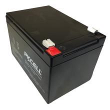 Bateria de armazenamento acidificada ao chumbo profunda industrial do poder da capacidade 12V 12Ah do uso industrial