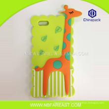 Haute qualité personnalisée nouvelle utilisation oem cute girafe téléphone portable