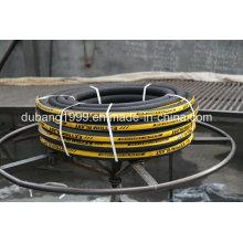 Mangueiras de borracha com armação de algodão para sistema de freio-engrenagem de material rolante ferroviário