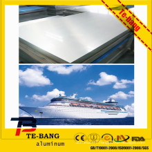 china manufacturer mill finish price per kg standard width 5052 5083 h112 marine grade aluminium alloy sheet