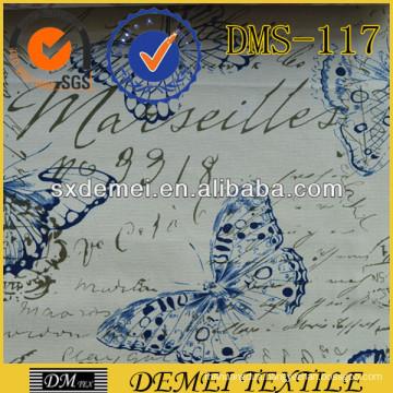 custom print,custom cotton upholstery sofa plain fabric