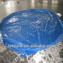 Auto-limpieza y alta resistencia a la tracción de lona redonda de PVC