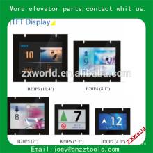 TFT LCD Indicateur d'ascenseur Indicateur ELD de l'élévateur de plaque