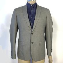Fashion business grey men slim fit suits