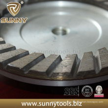 Sunny Profesional de calidad superior Turbo Diamond Cup Grinding Wheel