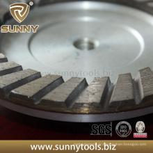 Roue de coupe à diamant turbo professionnel de qualité supérieure