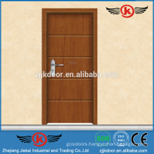 JK-P9236 interior pvc laminate kitchen swinging door