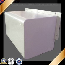 Alu 6061 Marine Hardware Square Aluminum Box with White Powder Coating