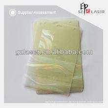 Regenbogen-Effekt PVC-Karten-Overlay