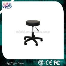 Регулируемый Профессиональный топ Высокое качество тату стул табурет стул с колесами, специально для художника