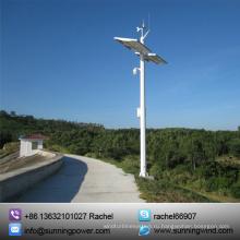 Постоянный магнит Ветер турбины 400W малых ветрогенератор мониторинга системы (мини-400W)