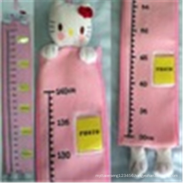 Plush height meter