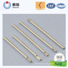 Pinos da mola do aço carbono da fábrica do ISO para a aplicação home