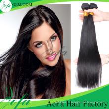 Дешевые Девственные Волосы, 100% Необработанные Расширение Человеческих Волос