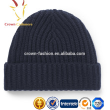 Winter Cashmere Knitted Hats Banie for Men
