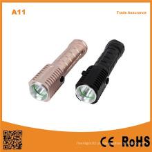 Lanterna elétrica de samsung led lanterna leve forte com forte ímã
