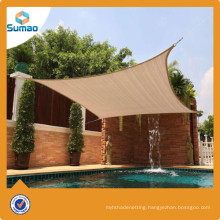 Top quality 100% new virgin HDPE shade fence shade sailing from China manufactory
