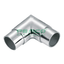 304 316 Fixed 90 Degree Balcony Stair Mirror  Stainless Steel Handrail Tube Joint Connector