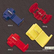 Connecteurs à fil rapide Kw-6