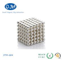 N35 Bola magnética pequena materiais de boro de ferro de neodímio
